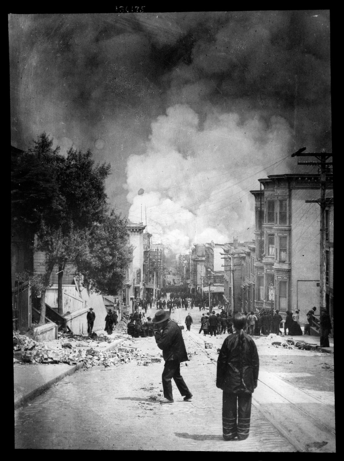 Arnold Genthe, photography, San Francisco, earthquake, 1906