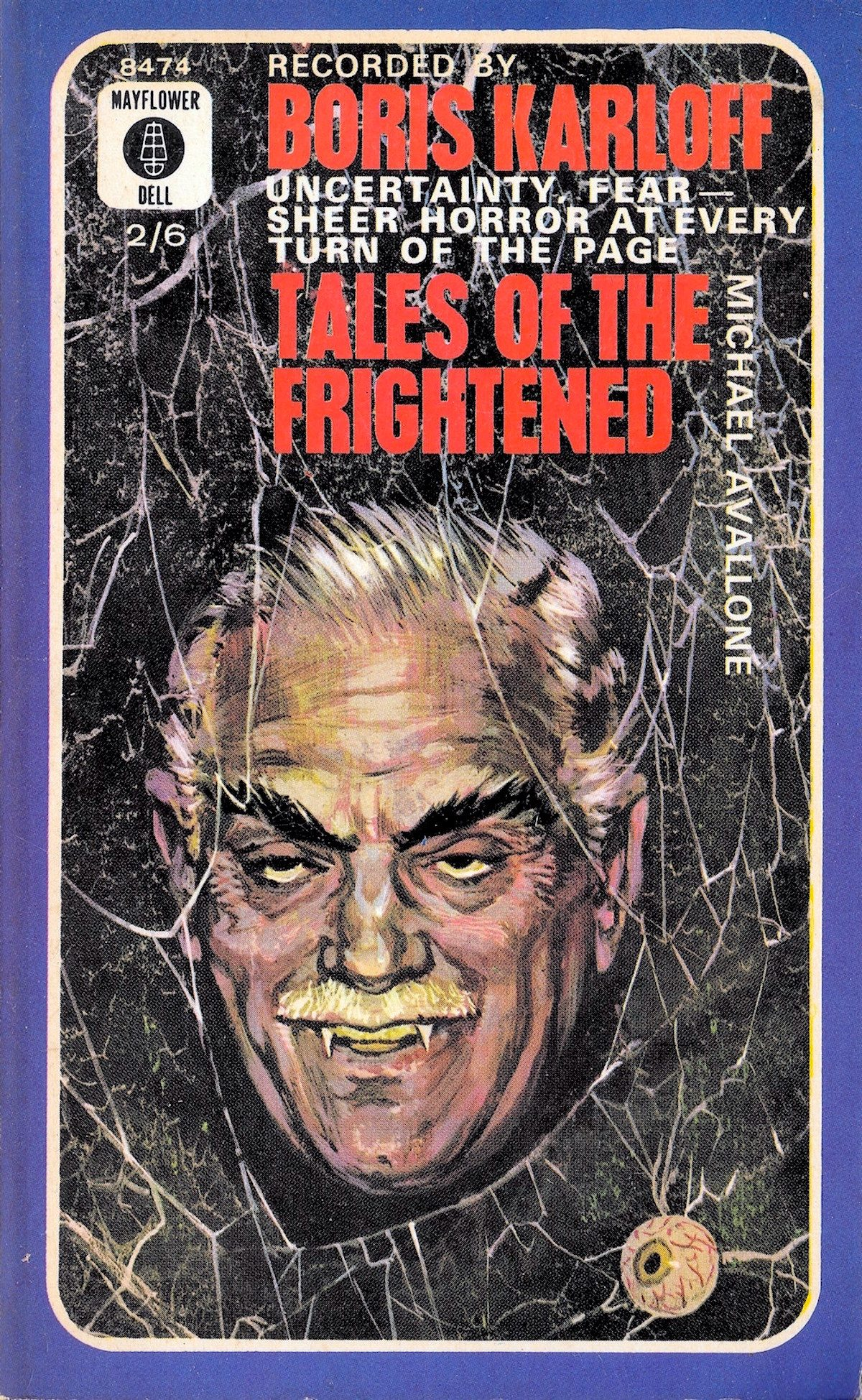 Boris Karloff, Tales of the Frightened, book