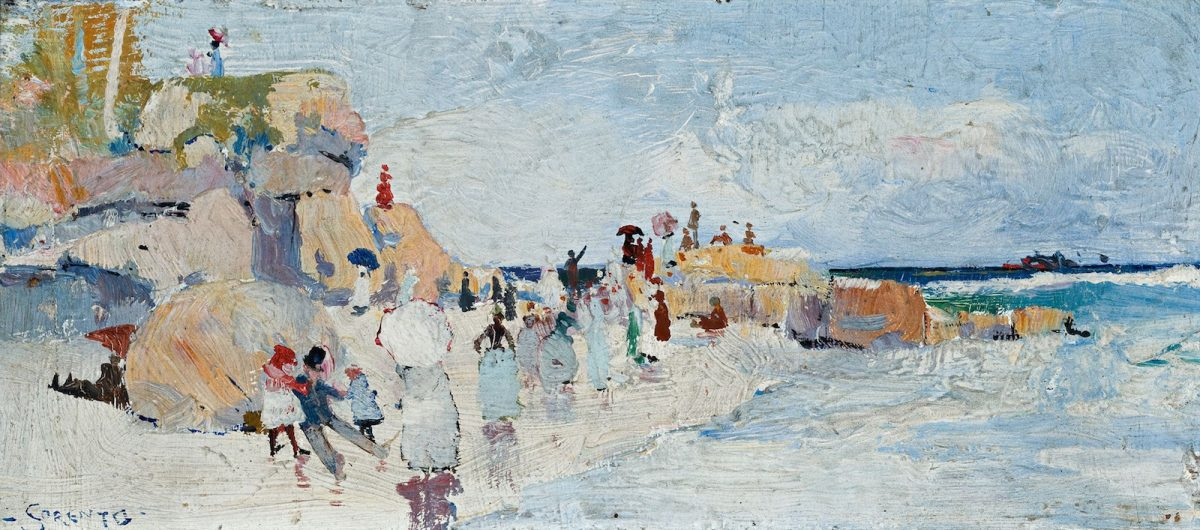 Charles Conder, painting, Sorrento