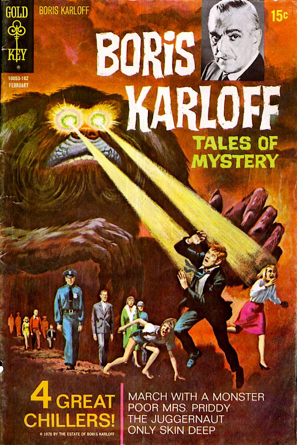 Boris Karloff, Tales of Mystery, comics