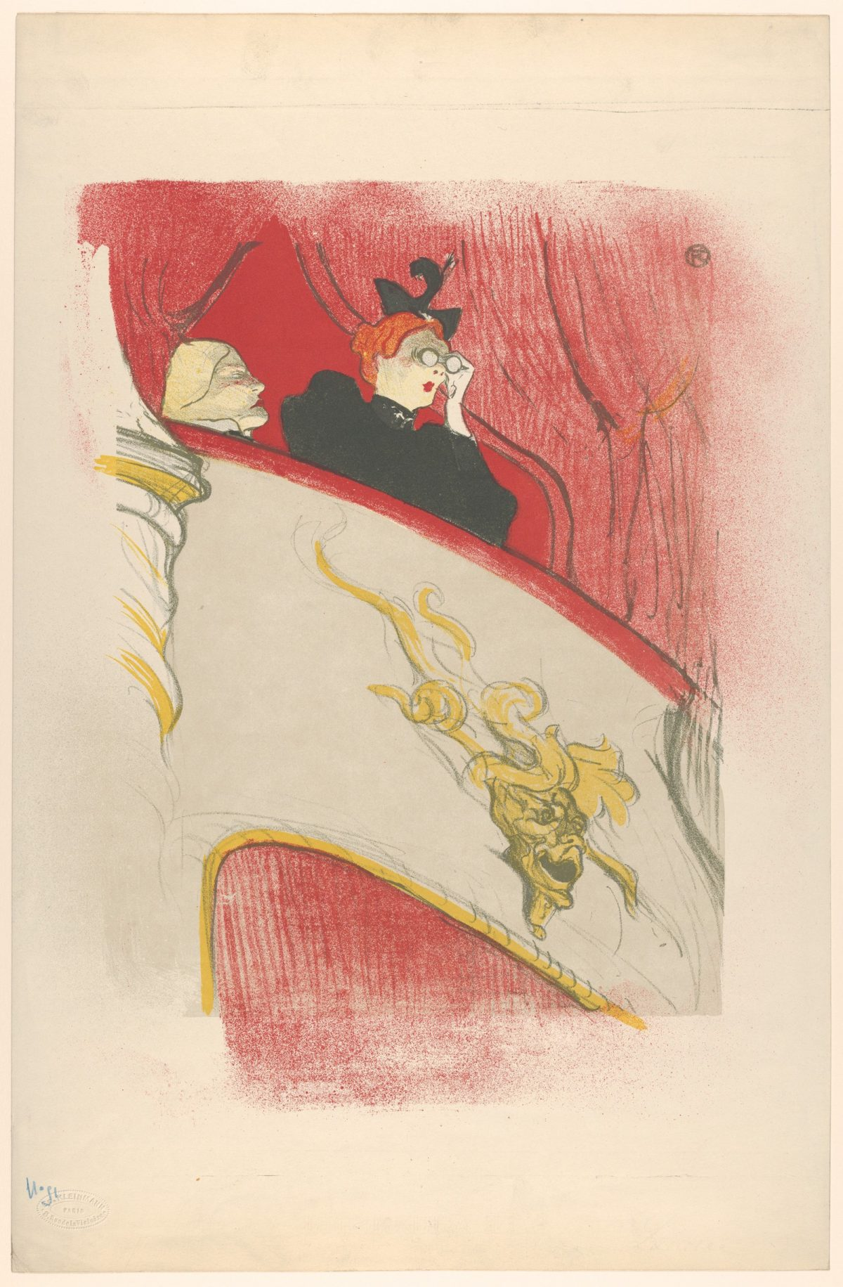 Toulouse-Lautrec, Charles Conder, painting