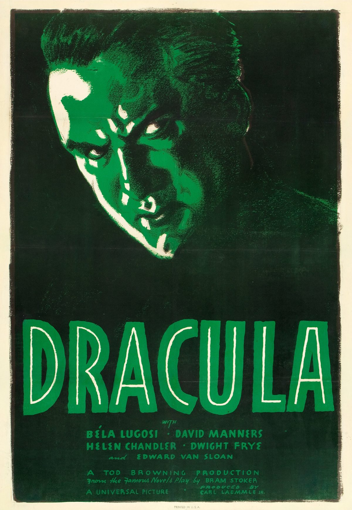 Dracula, Bela Lugosi, film poster, horror movie, 1931