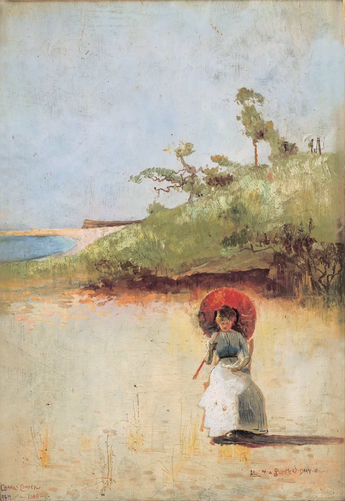 Charles Conder, painting, 1800s