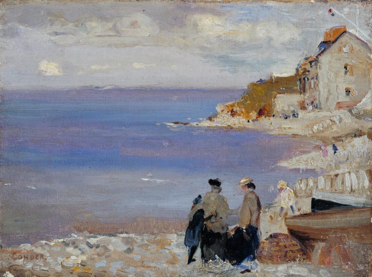 Charles Conder, painting, Swanage, 1901