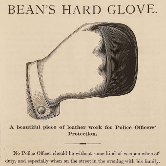 An Illustrated Police Equipment Catalogue from 1891