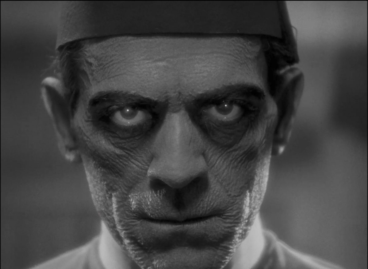 Boris Karloff, The Mummy, horror movies
