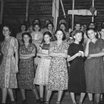 Photographs of a Cajun Fais Do-Do Dance in Crowley, Louisiana in 1938