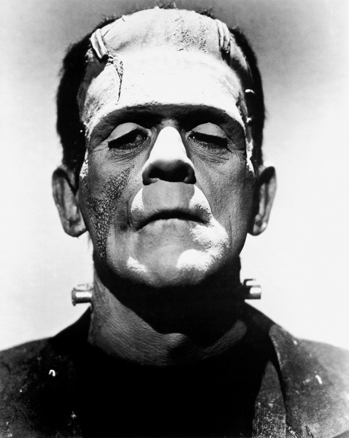 Boris Karloff, Frankenstein, James Whale, Public Domain