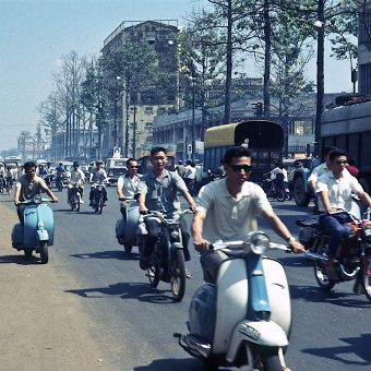 Late 1960s Photographs of Saigon Going about Its Business While the Vietnam War Rages