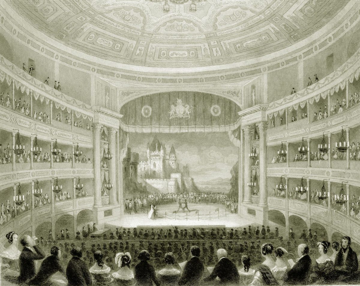 Theatre Royal Drury Lane, 1800s.