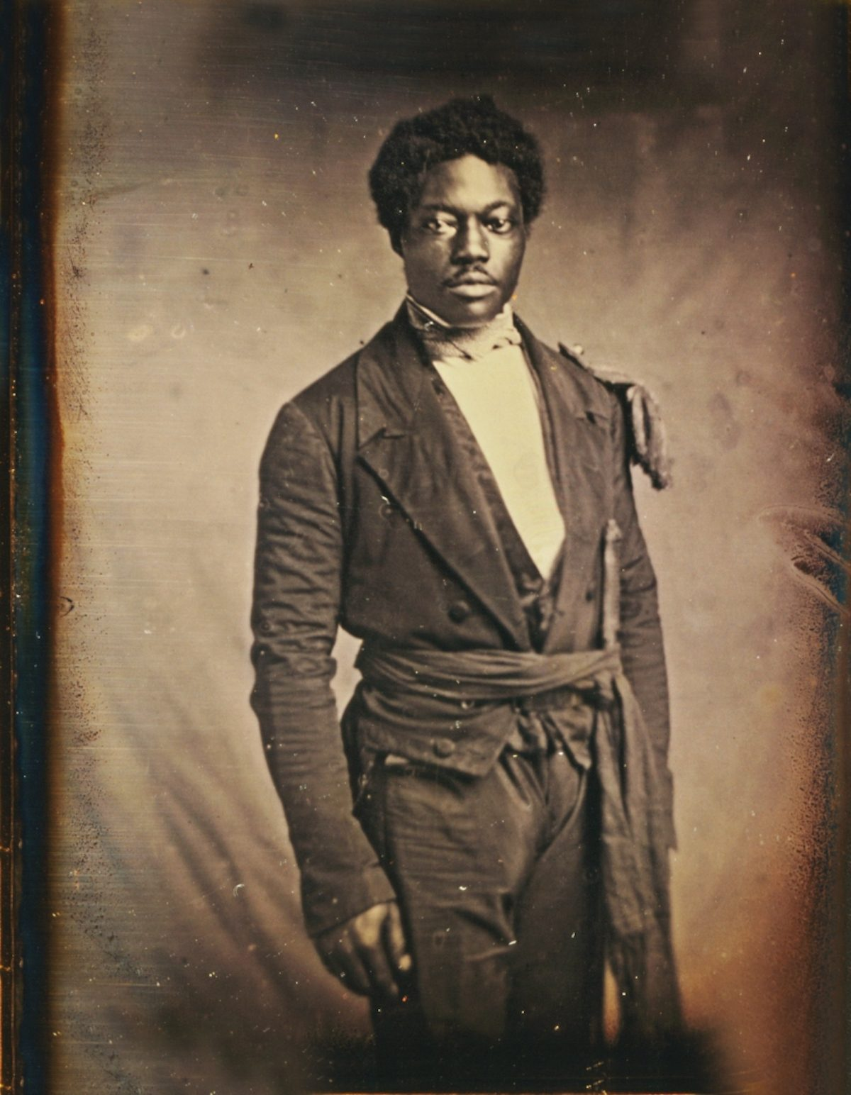 Chancy Brown, Sergeant at Arms of the Liberian Senate, by Augustus Washington