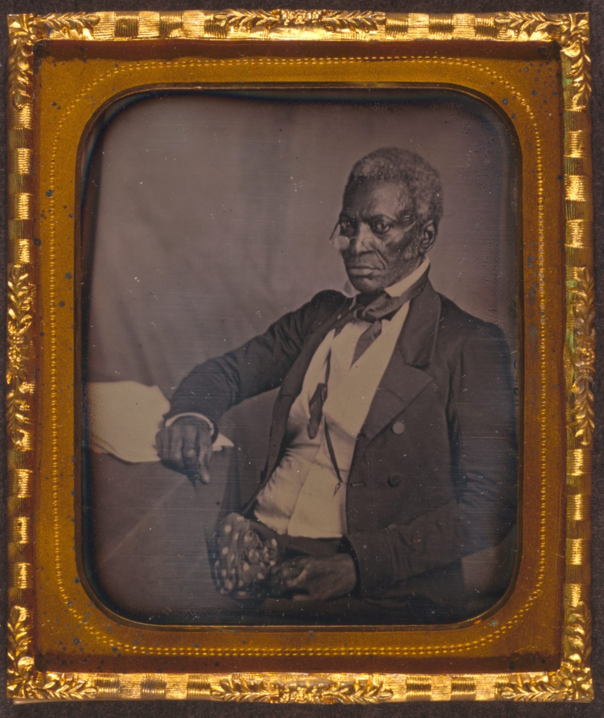 Liberian Senator John Hanson, by Augustus Washington