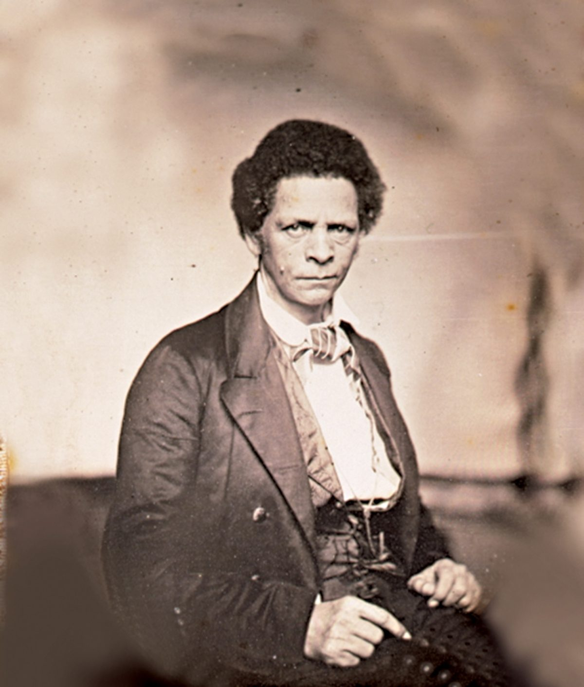Joseph Jenkins Roberts, the first and seventh president of Liberia, by Augustus Washington