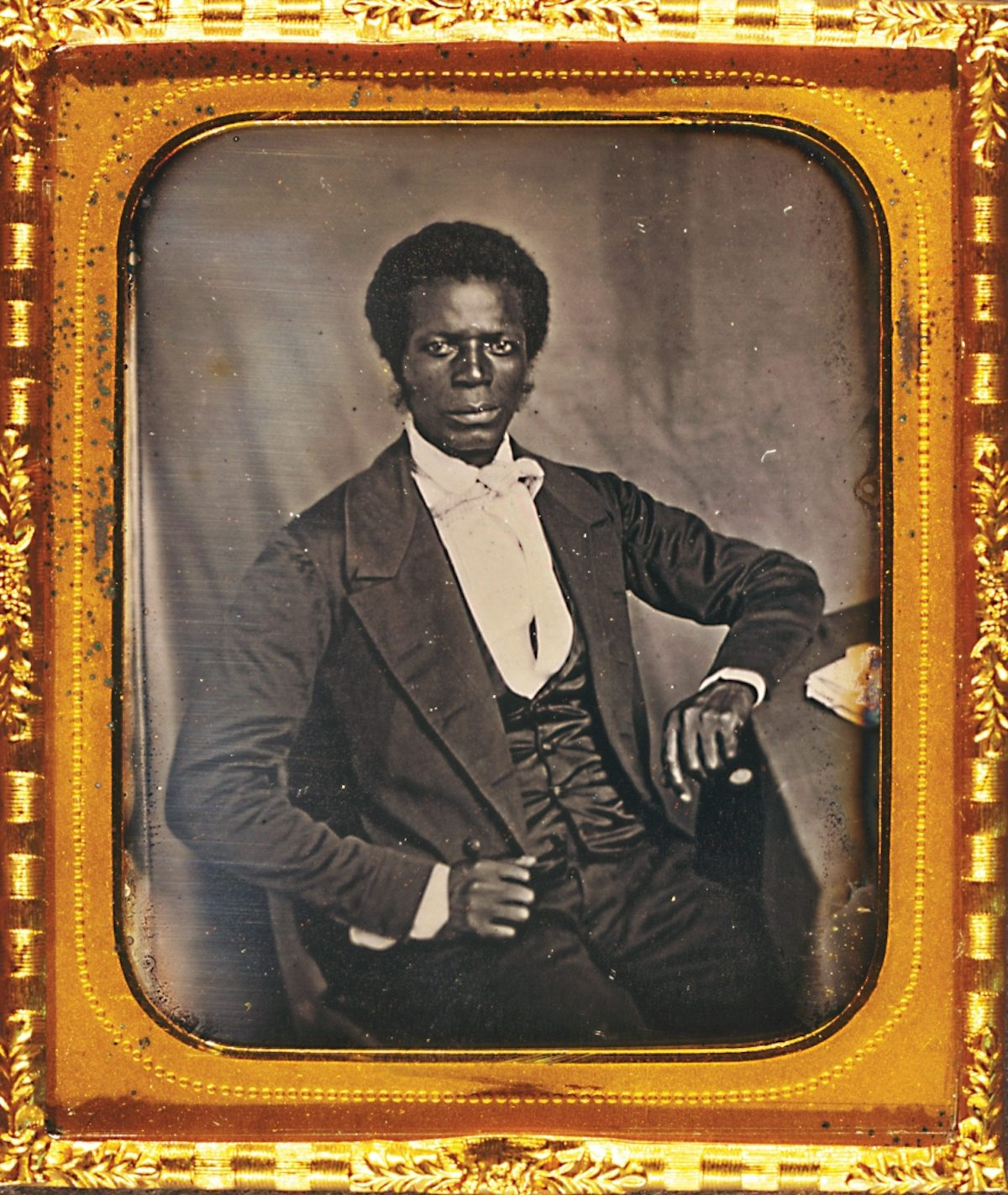James Mux Priest, the first Presbyterian African American missionary sent to Liberia, by Augustus Washington