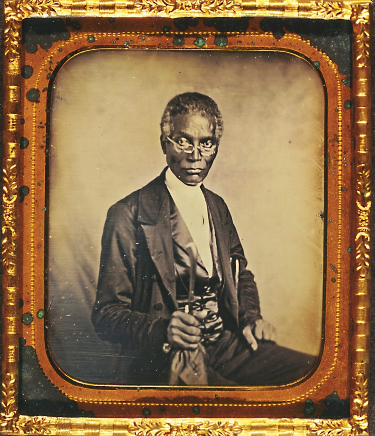 Philip Coker, clergyman and missionary of the Methodist Episcopal Church, by Augustus Washington