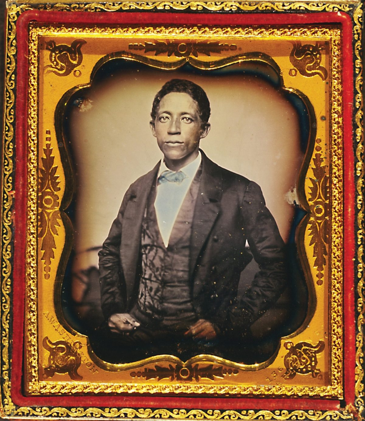 Urias Africannus McGill, an American immigrant to Liberia, by Augustus Washington