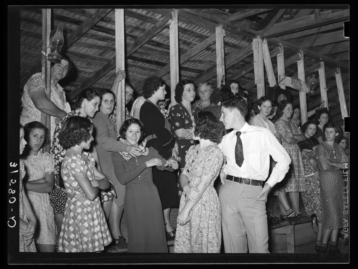 Fais do-do in Crowley Louisiana, 1938