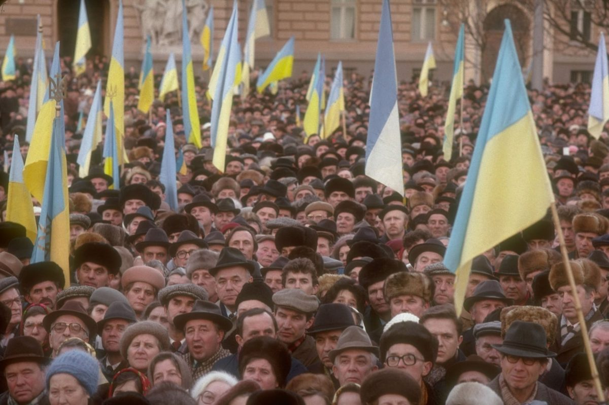 The Collapse of the Soviet Union in Pictures Ukraine
