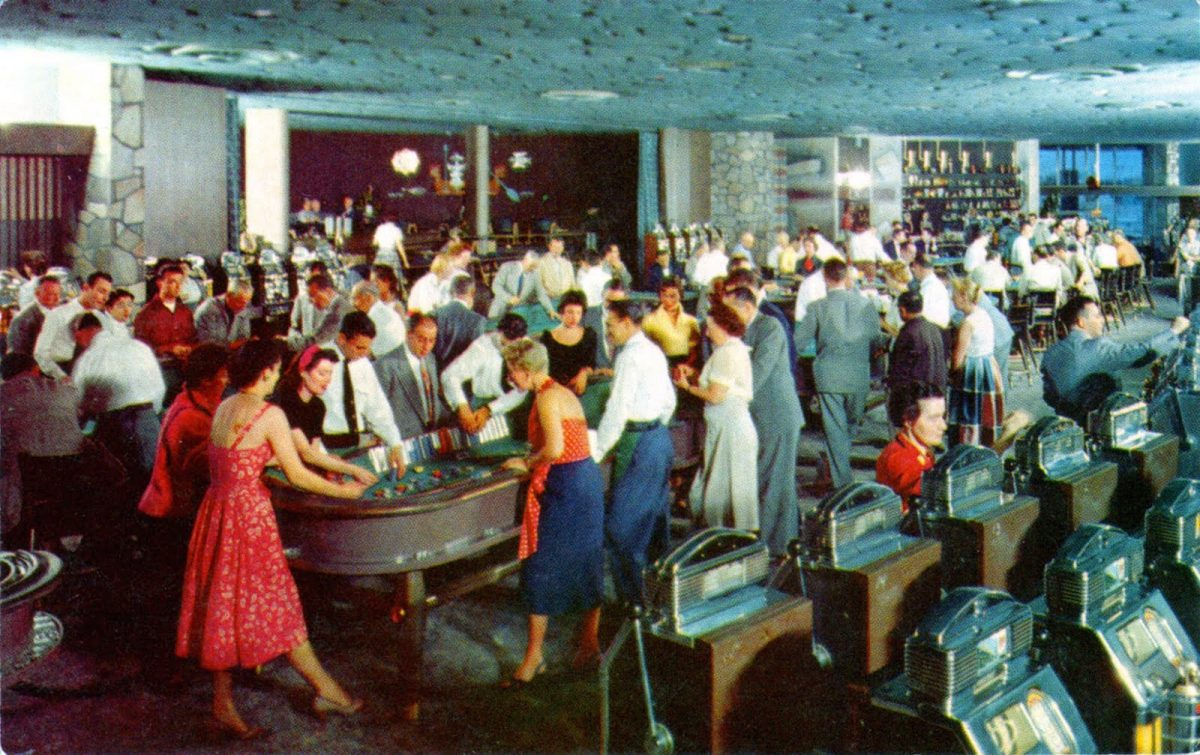 Las vegas, Flamingo Hotel, casinos, postcards