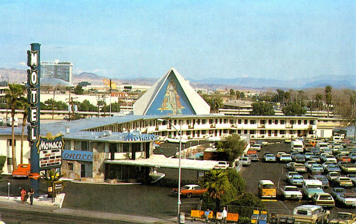 Las vegas, the Monaco, casino, motel