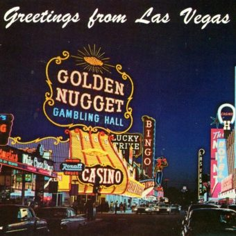 Bright Lights, Big City: Vintage Postcards from Las Vegas