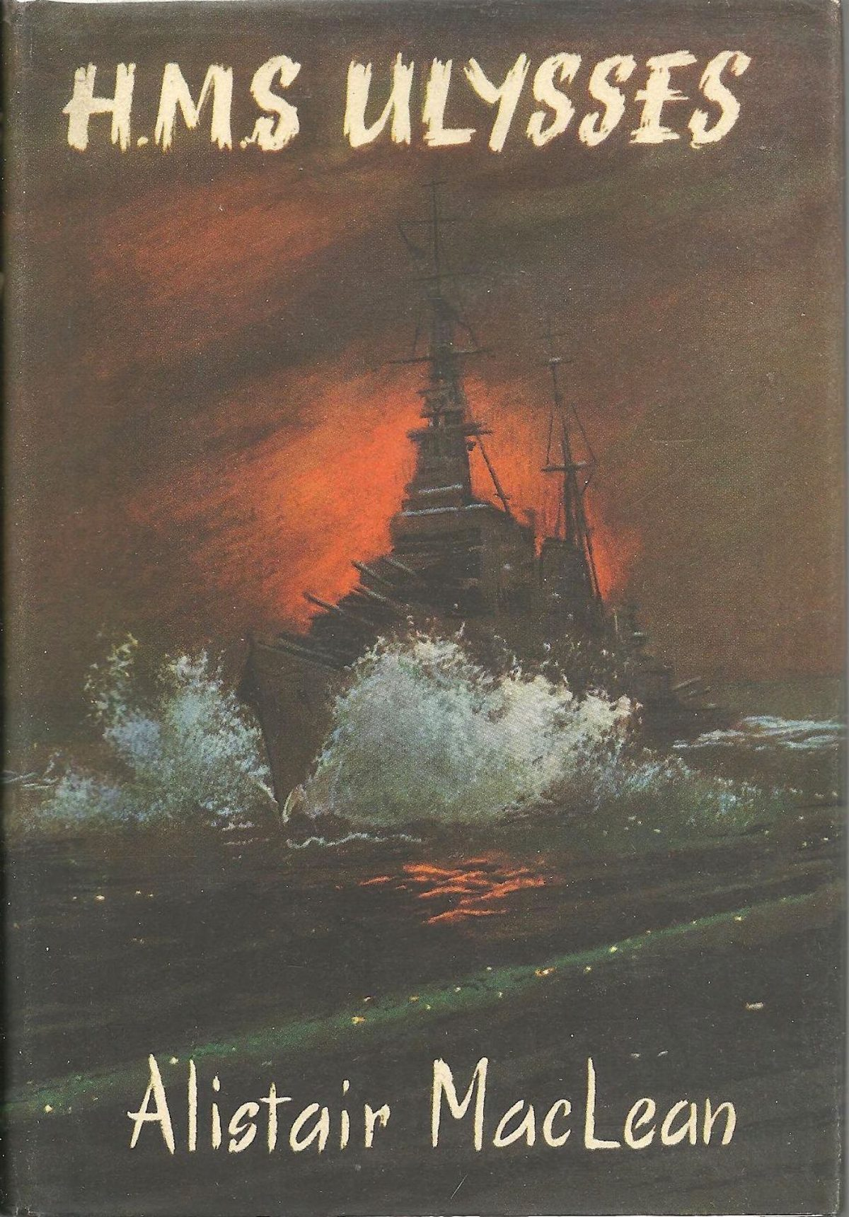 Alistair MacLean, HMS Ulysses, books, 1950s, writers