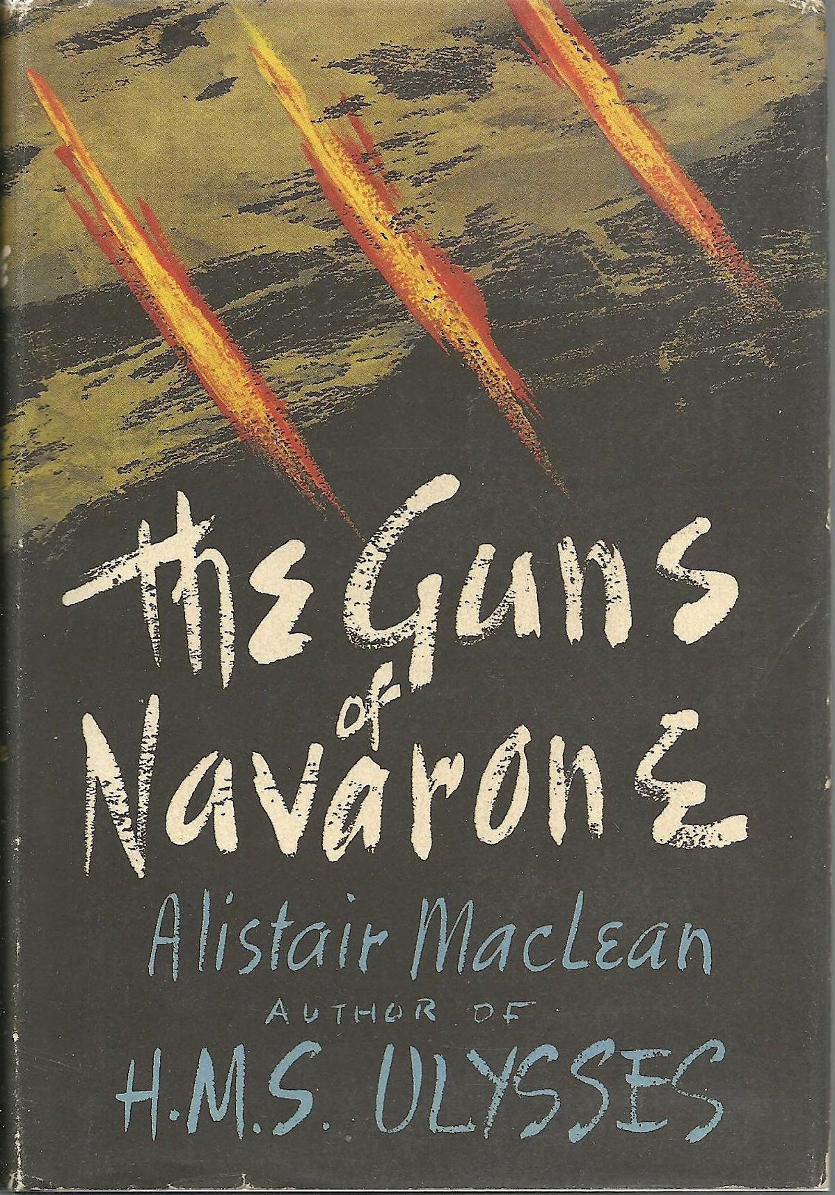 Alistair MacLean, Guns of Navarone, book, writer