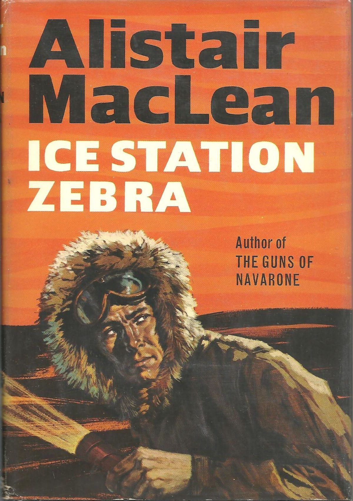 Alistair MacLean, Ice Station Zebra, book