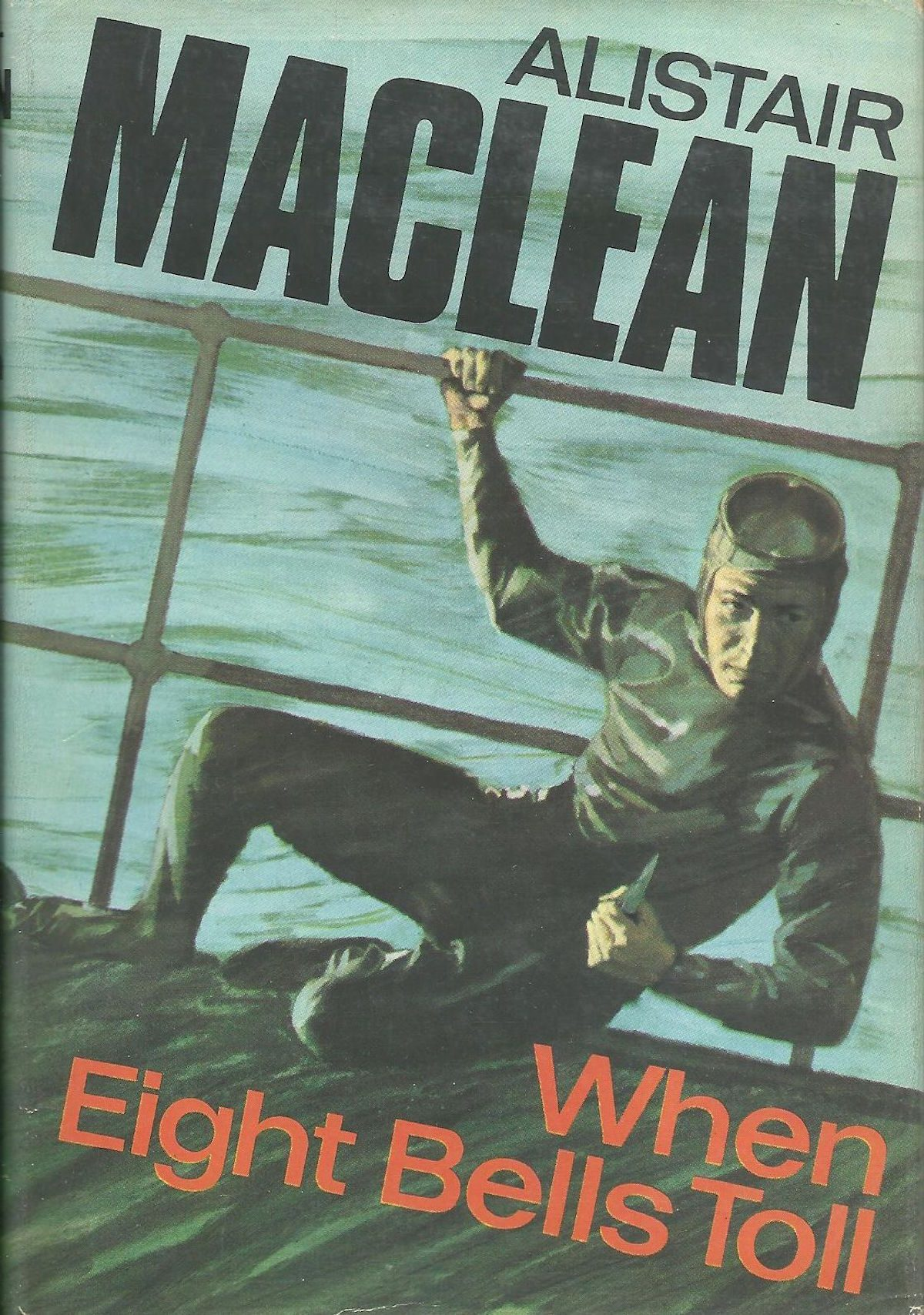 Alistair MacLean, When Eight Bells Toll, book, writer, thriller