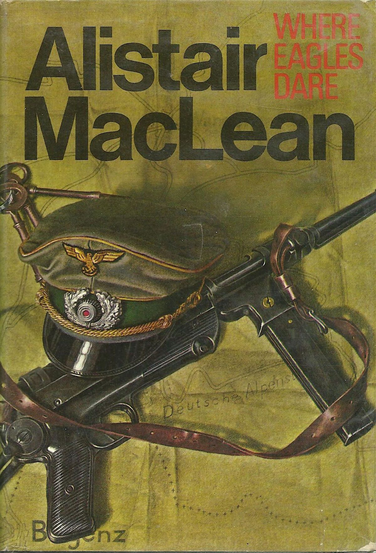 Alistair MacLean, Where Eagles Dare, book, writer