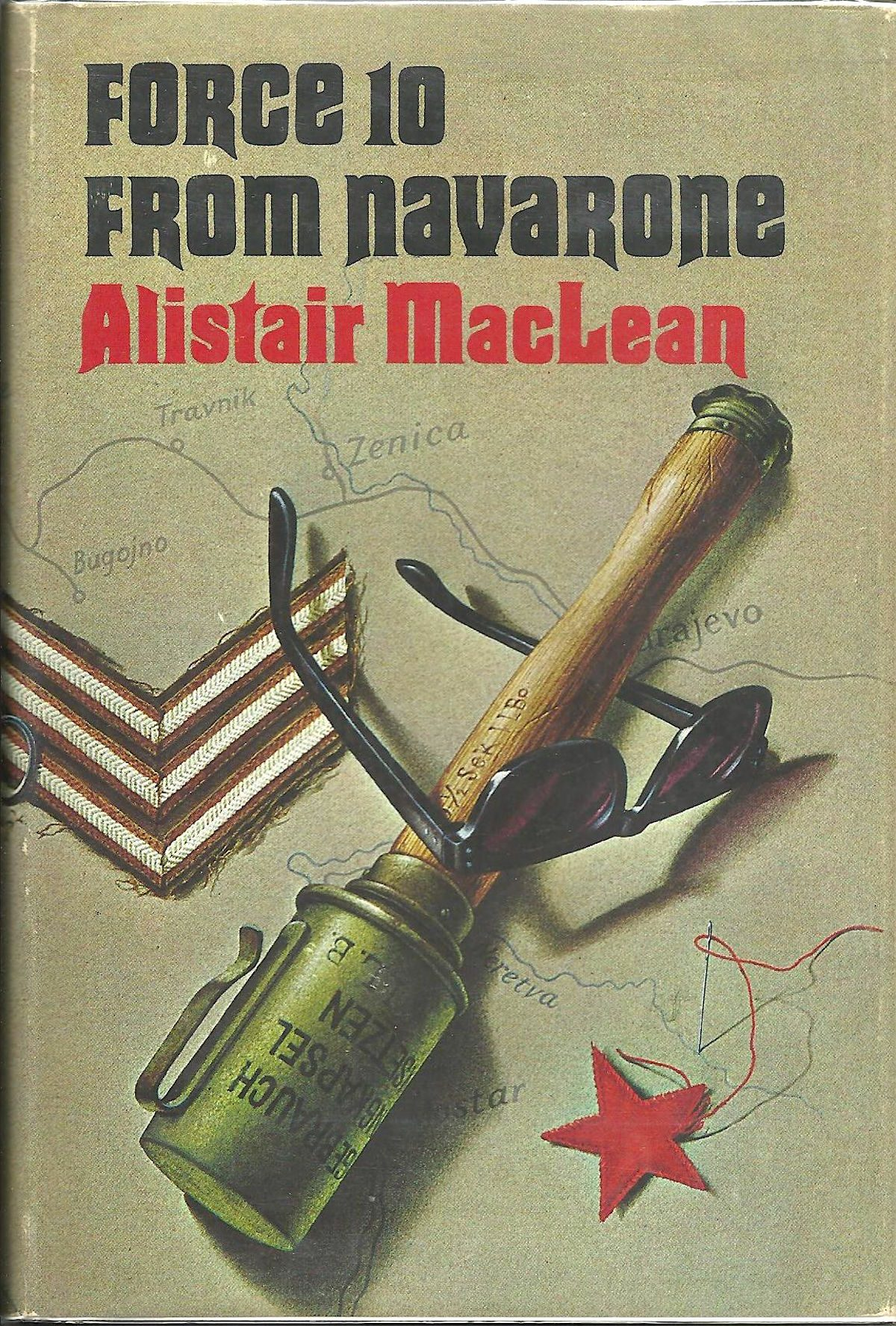 Alistair MacLean, Force 10 from Navarone, book