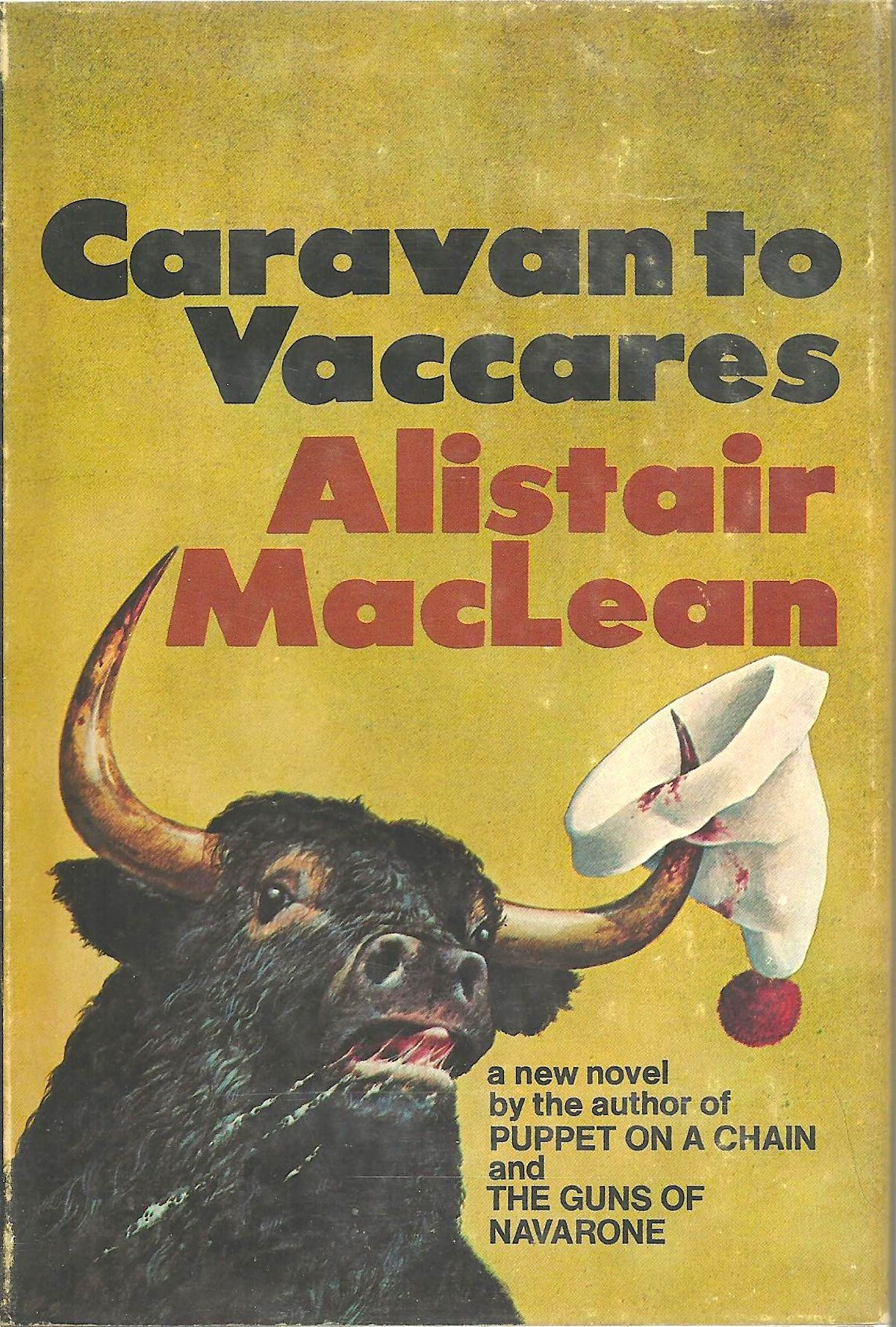 Alistair MacLean, Caravan to Vaccares, book