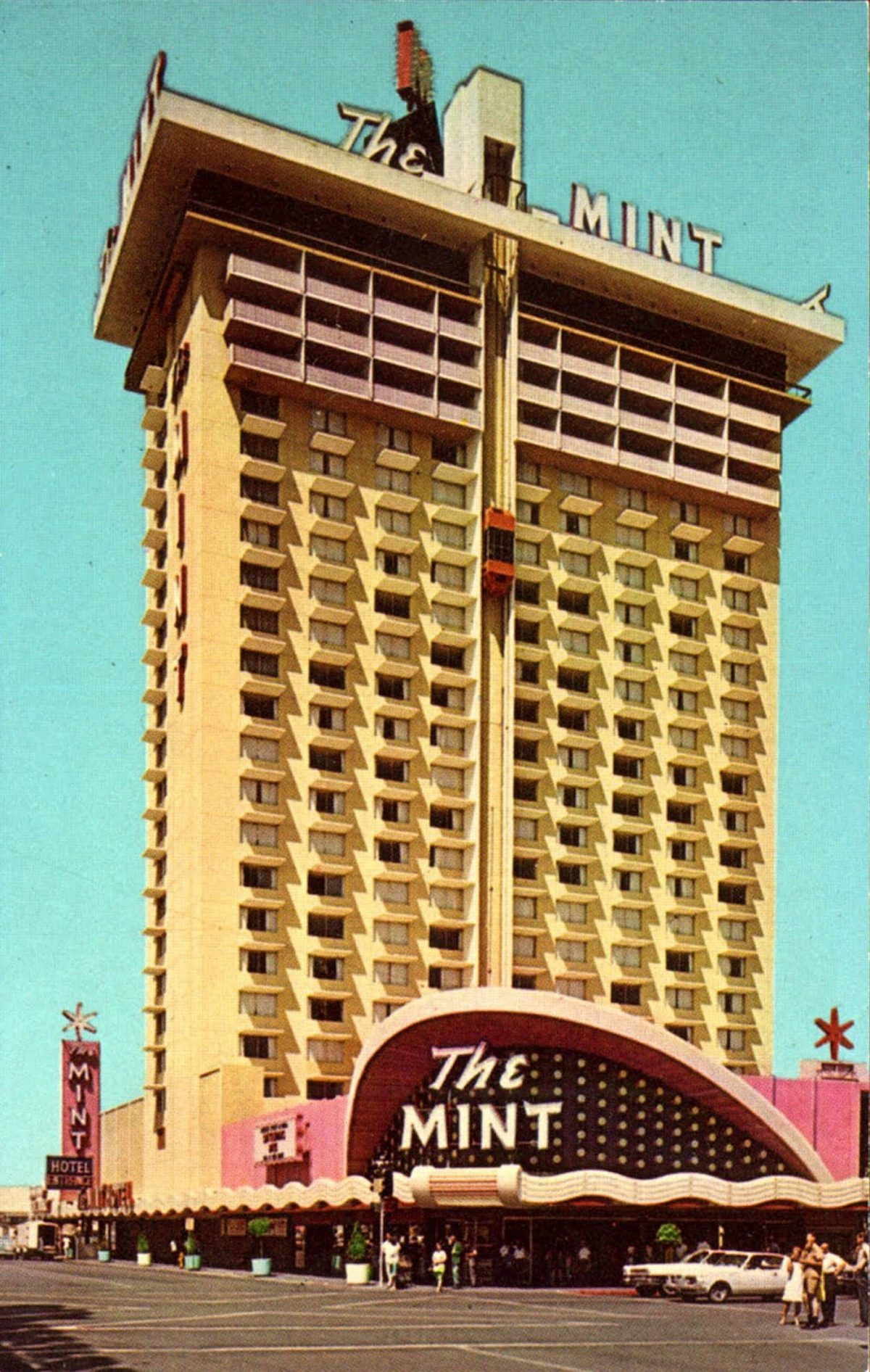 Las vegas, the Mint Casino,
