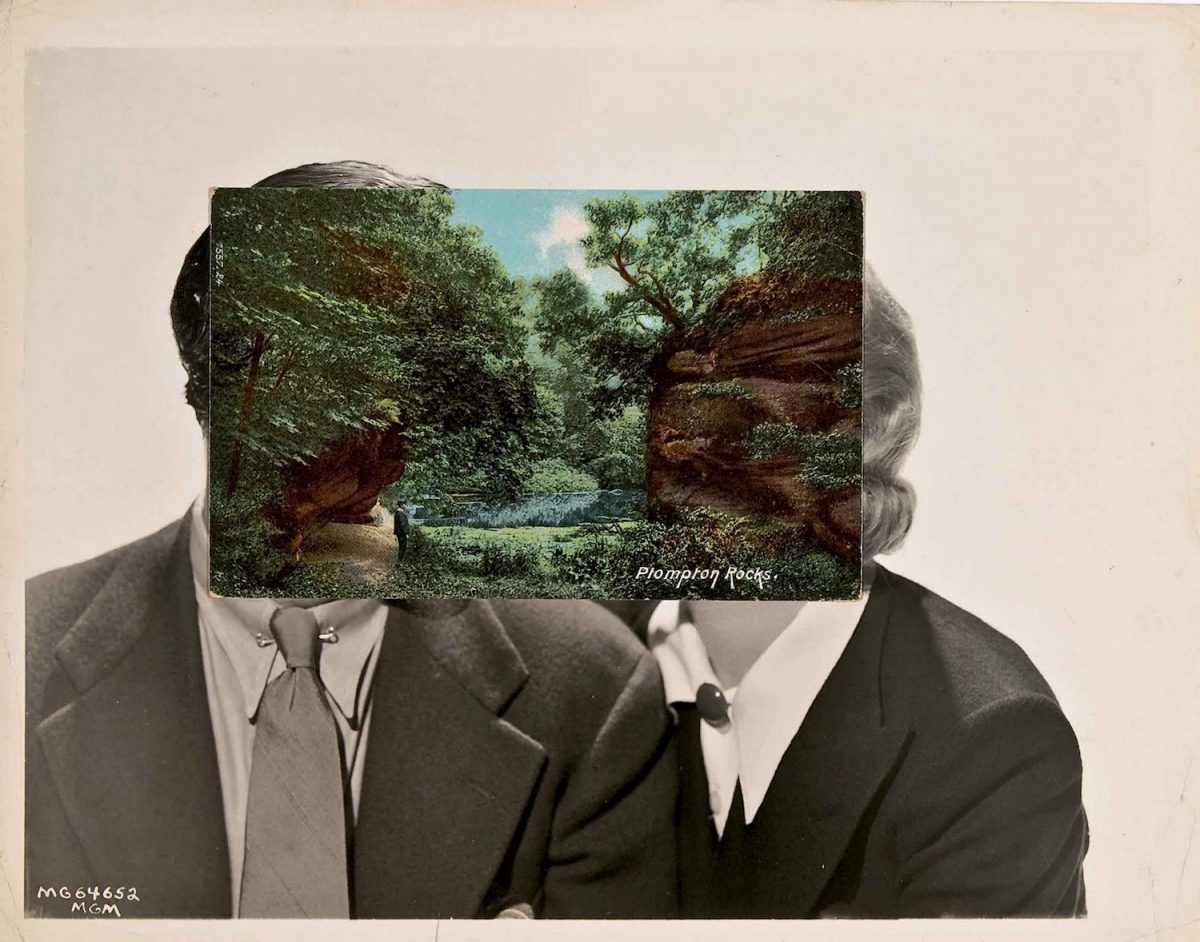 John Stezaker, collage, cutting, photographs