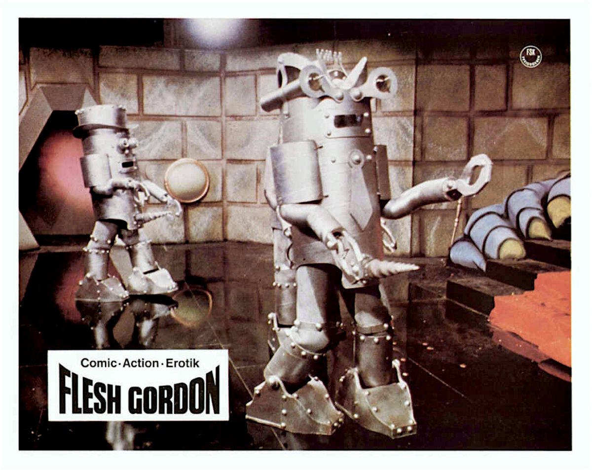 Flesh Gordon, sexploitation, lobby card, film, 1970s