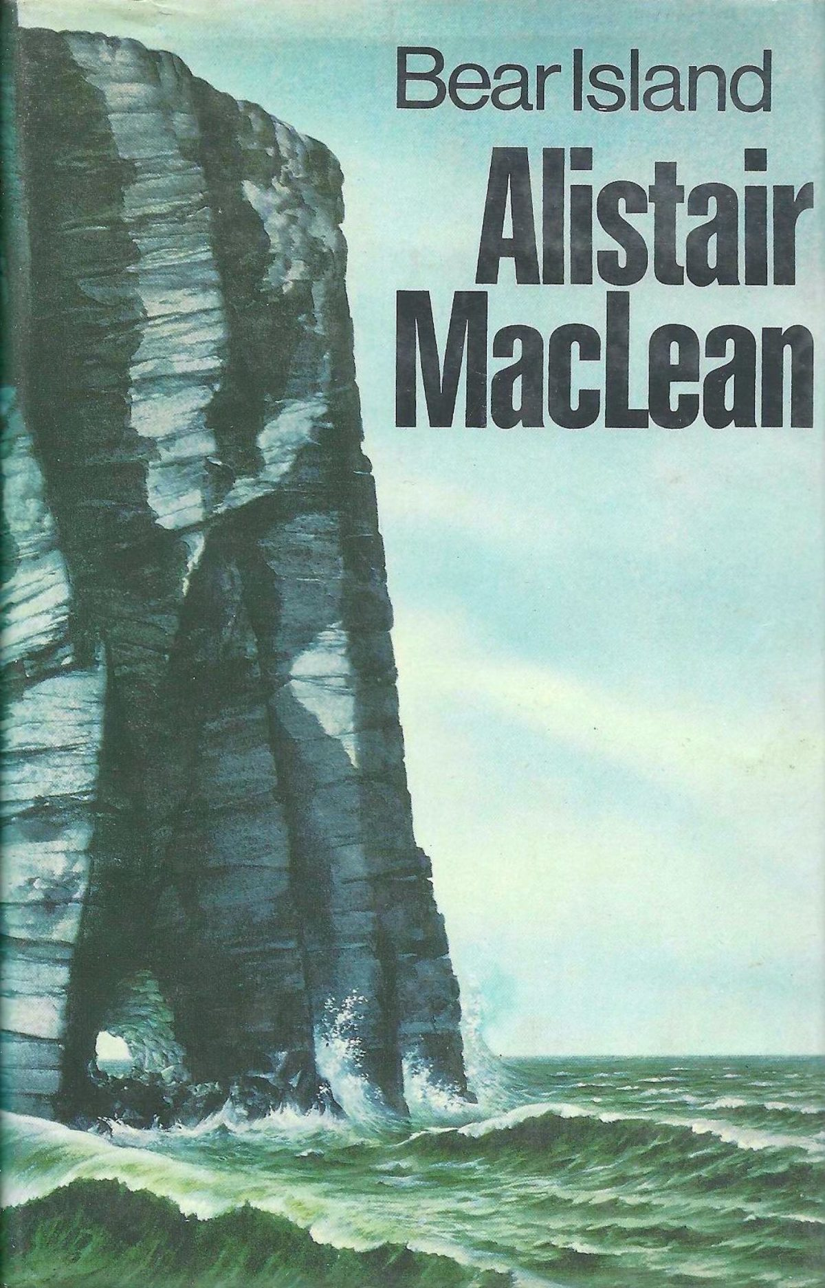 Alistair MacLean, Bear Island, book