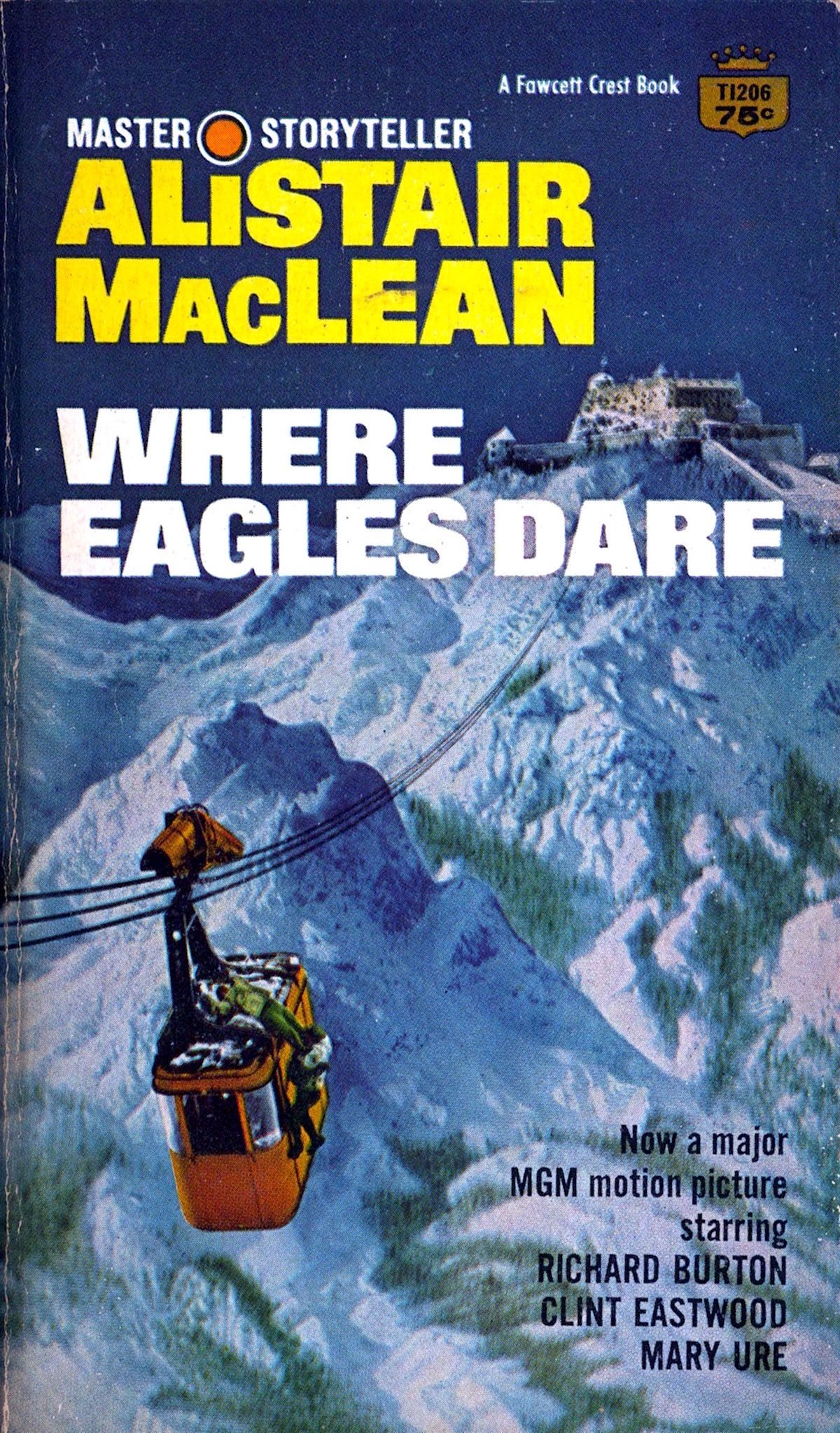 Alistair MacLean, Where Eagles Dare, book,