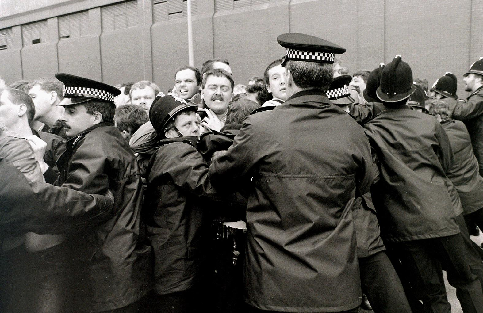 Copperas Hill post office protest, Liverpool - 1987