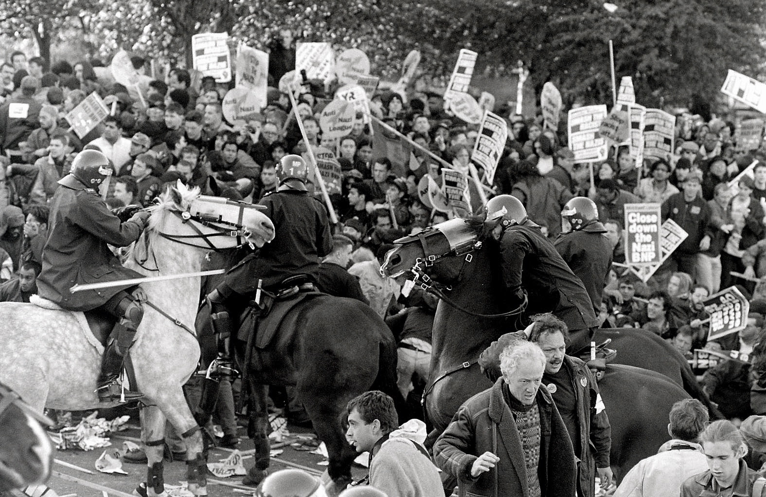 Welling anti-fascist rally 1993