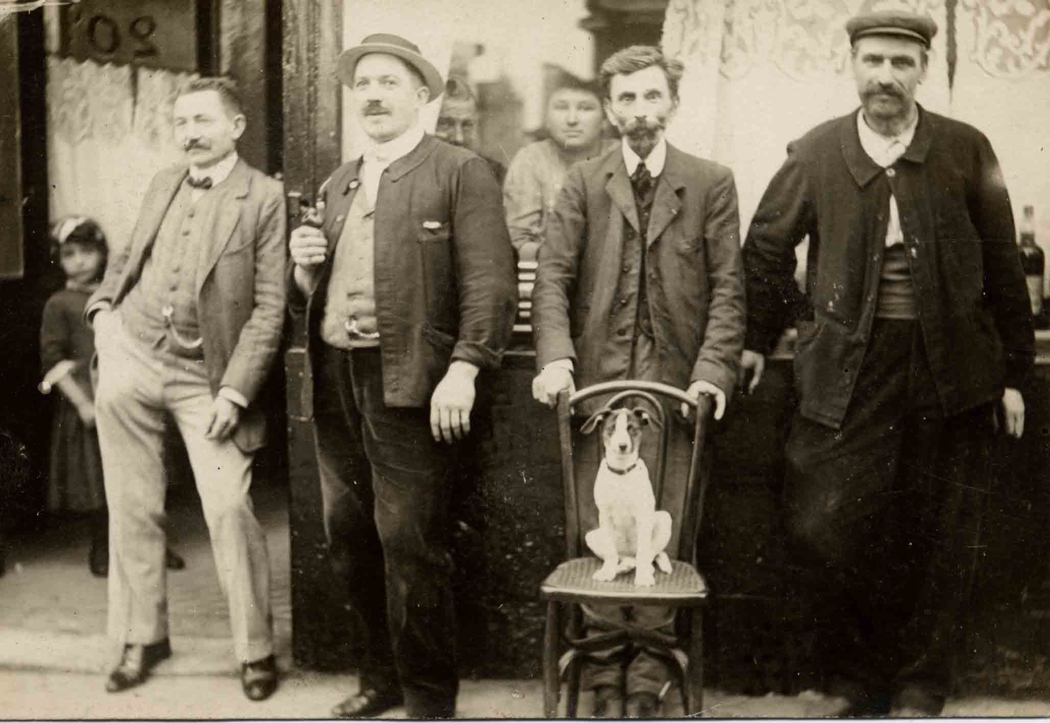Jack Russell Dogs vintage photographs-