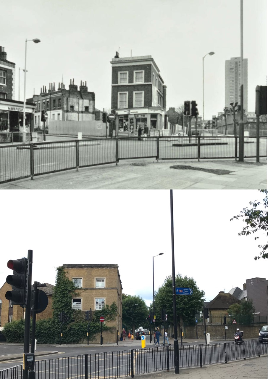 Here's another image near Lauriston Road - however the original photo was taken in the 1970s courtesy of @CoLA_Southwark . I have so many memories here...
