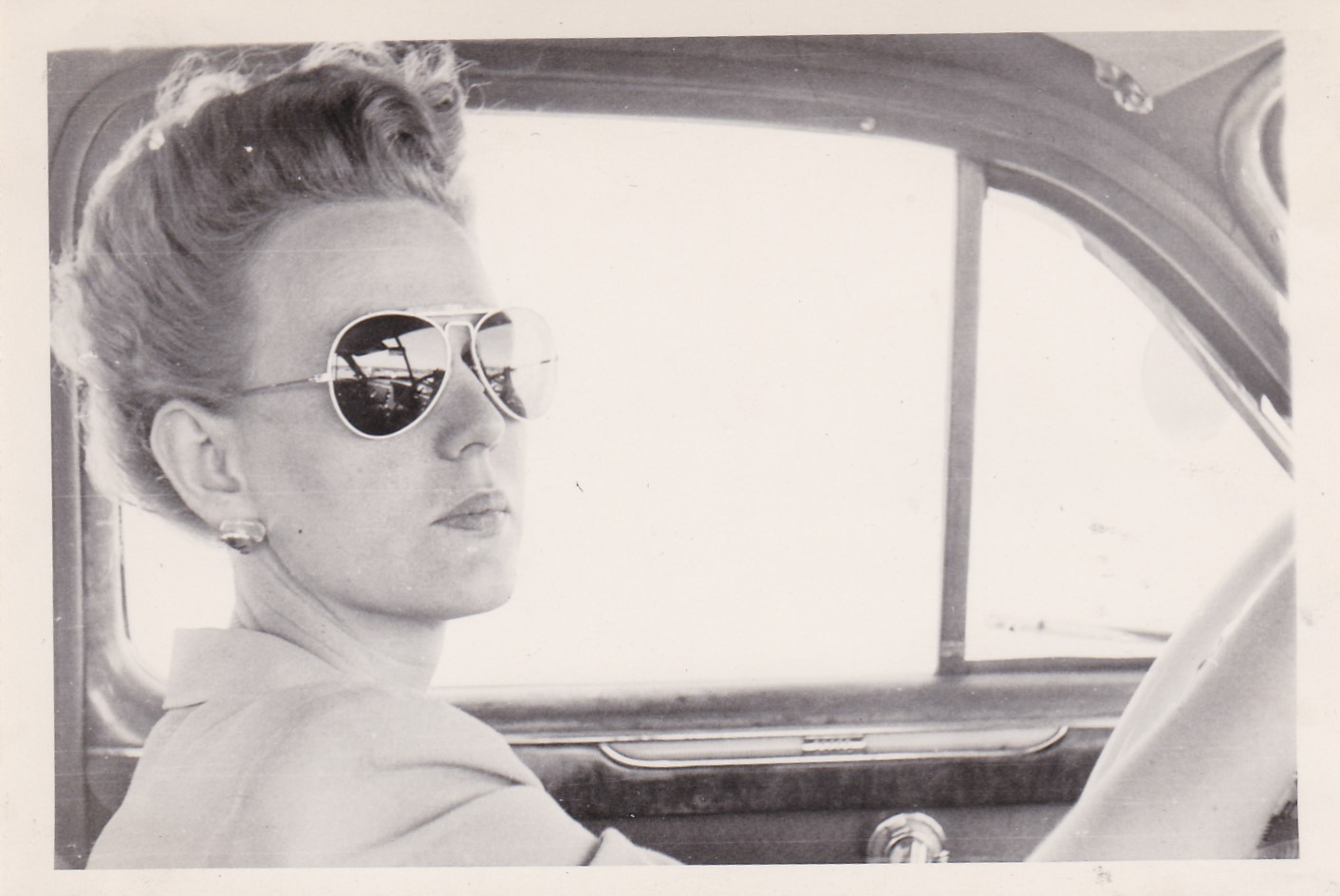 Women In Sunglasses Vintage Snapshot Photos