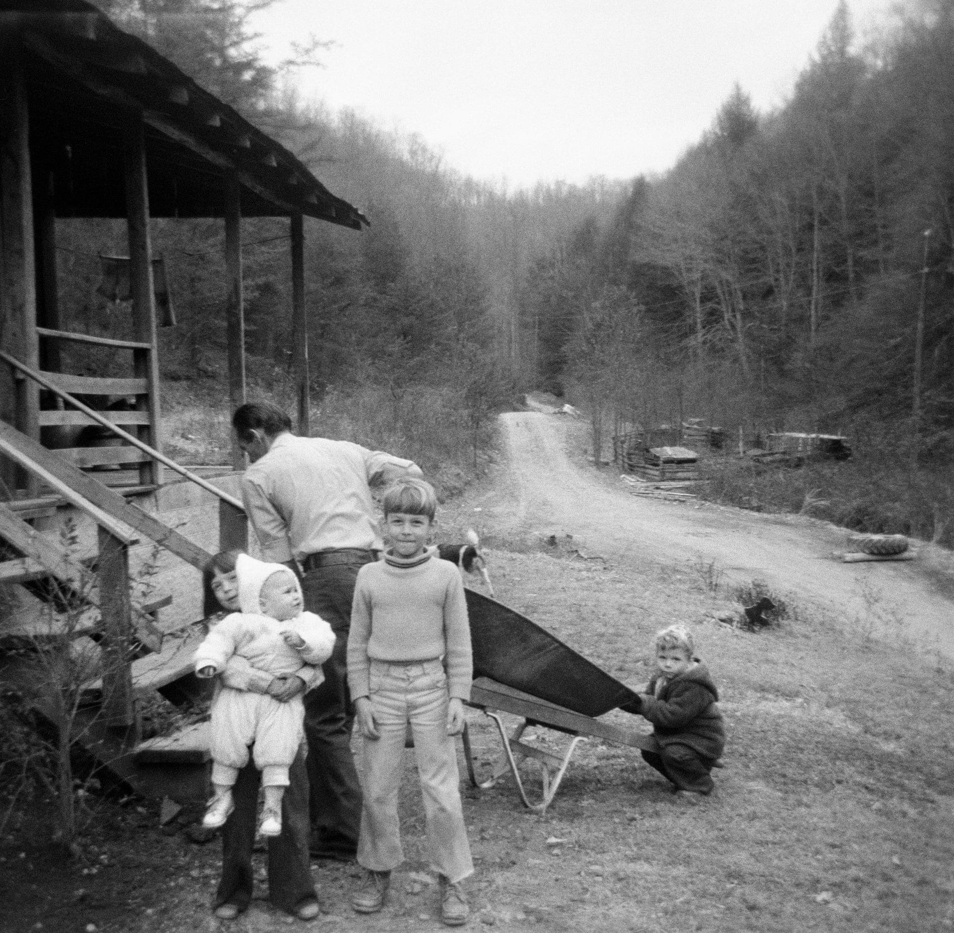 appalachian kentucky kids family 1975