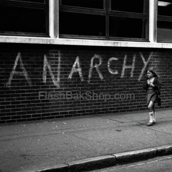 Anarchy Lives: A Brilliant Photograph and Print of Stratford, London In 1976