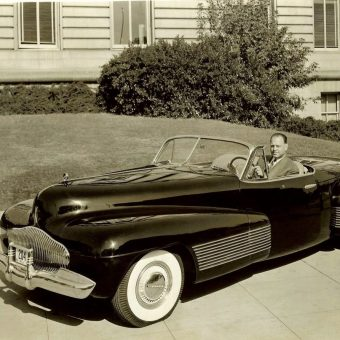 The Buick Y-Job, the First Concept Car, Designed and Built in 1938