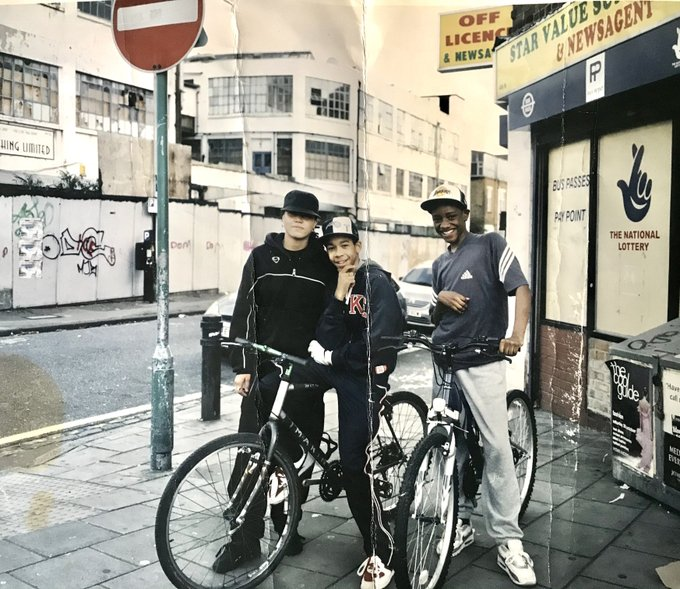 hackney Here's me and my friends on the corner of Well Street back in 2003