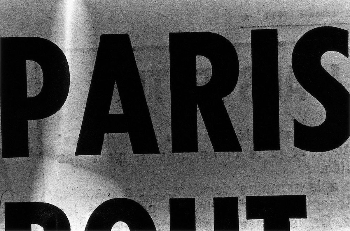 Takuma Nakahira's Disoriented Photographs of Paris, 1971