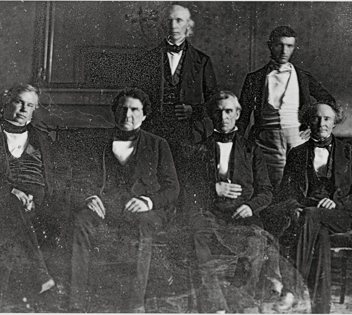 President James K. Polk and his Cabinet, 1846