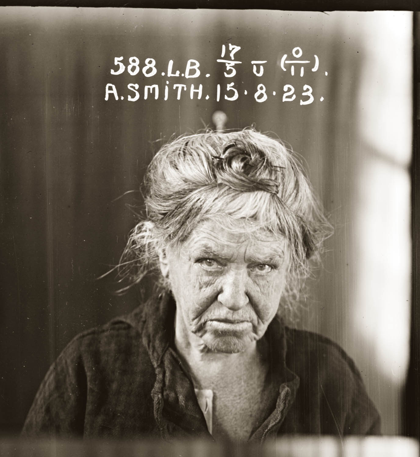 Mug Shots of Australian women prisoners 1920s