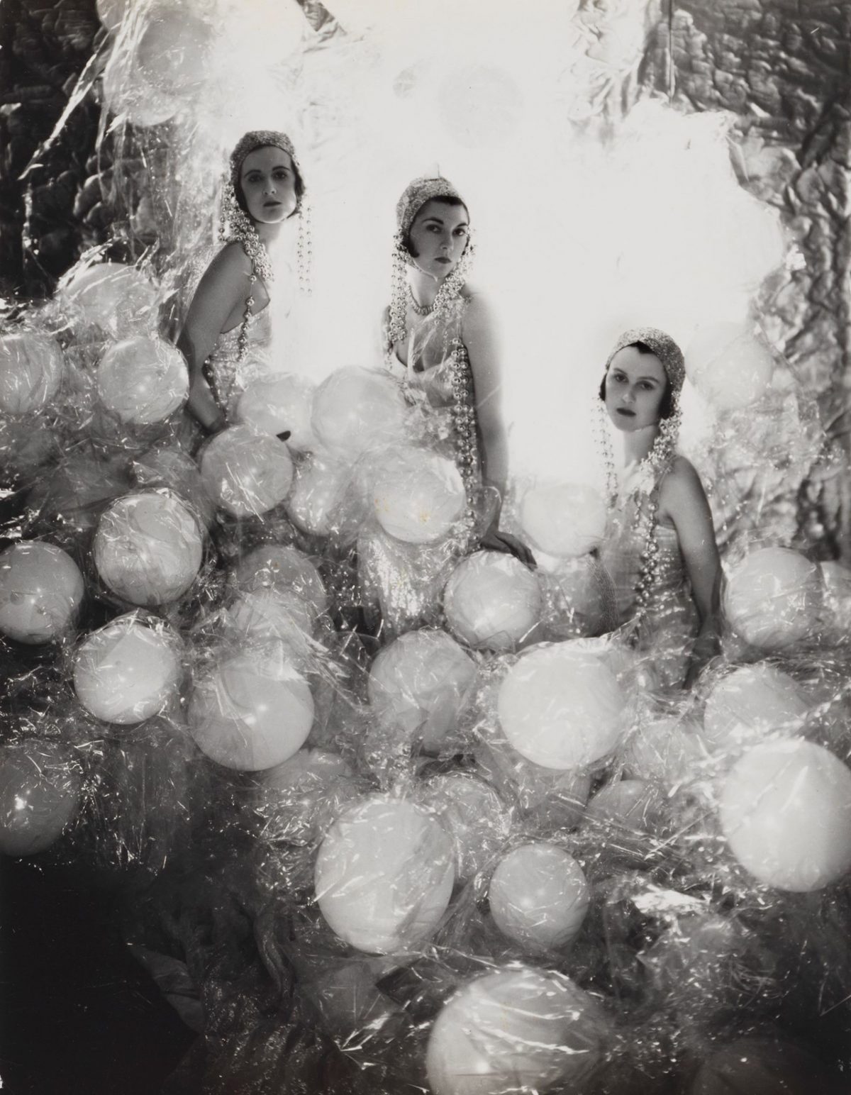 The Silver Soap Suds (L to R: Baba Beaton, the Hon. Mrs Charles Baillie-Hamilton and Lady Bridget Poulett), 1930